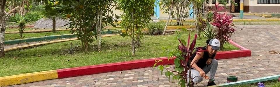 MANTENIMIENTO DE ESPACIOS COMUNITARIOS EN EL CENTRO PARROQUIAL.